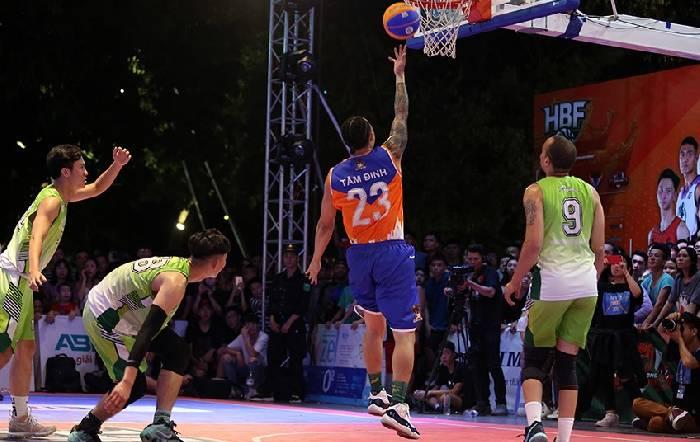 Trực tiếp giải bóng rổ 3x3 HBR 2020 ngày 18/7: Hà Nội vs Ba Đình, Jokers vs Dwarf, Thang Long Warriors vs Hidden Dragons, Phòng Không Không Quân vs Basket Sags