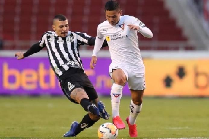 Nhận định, soi kèo Santos vs LDU Quito, 05h15 02/12