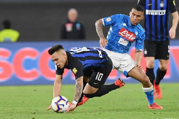 Soi kèo từ sàn châu Á Inter Milan vs Napoli, 02h45 17/12