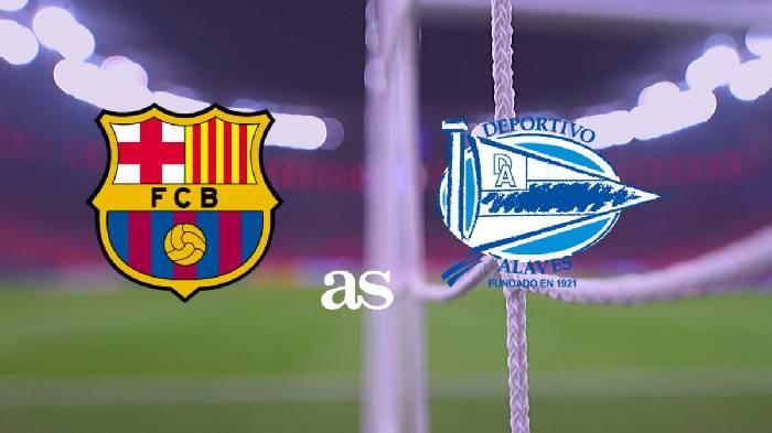 Soi kèo từ sàn châu Á Barcelona vs Alaves, 03h00 14/02