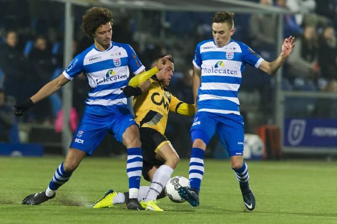 Soi kèo từ sàn châu Á Zwolle vs Heerenveen, 02h00 27/02
