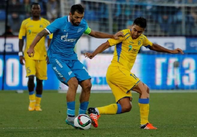 Nhận định, soi kèo Zenit vs Rostov, 20h30 27/02