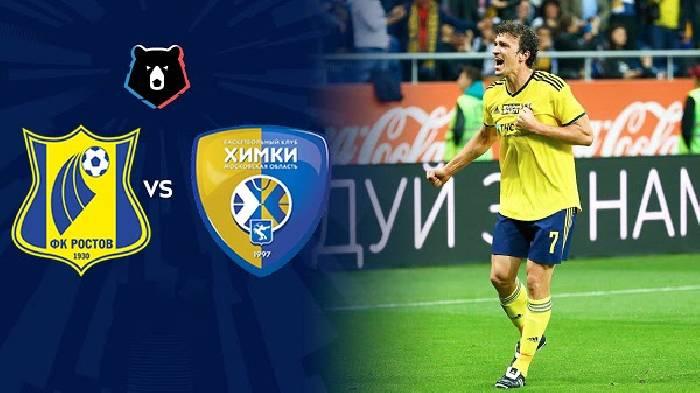 Soi kèo từ sàn châu Á Khimki vs Rostov, 23h00 ngày 12/3