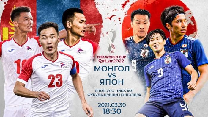 Nhận định, soi kèo Mông Cổ vs Nhật Bản, 17h30 ngày 30/3