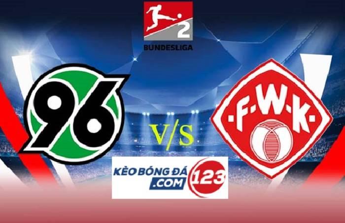 Nhận định, soi kèo Hannover vs Wurzburger Kickers, 23h30 08/04