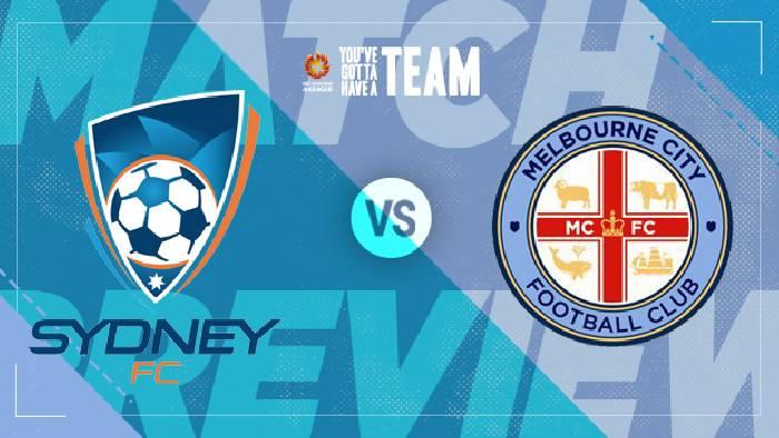 Nhận định, soi kèo Sydney FC vs Melbourne City, 14h05 ngày 10/4