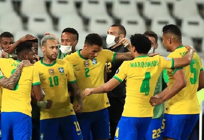 Soi kèo nhà cái hiệp 1 Brazil vs Peru, 07h30 ngày 10/9