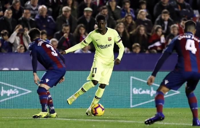 Soi kèo nhà cái hiệp 1 Barcelona vs Levante, 21h15 ngày 26/9