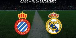 Nhận định, soi kèo Espanyol vs Real Madrid, 03h00 29/6