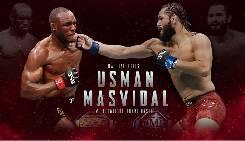 Kết quả UFC 251: Kamaru Usman thắng Jorge Masvidal bảo vệ đai vô địch
