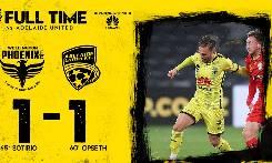 Wellington Phoenix 1-1 Adelaide United: Tiếc cho chủ nhà