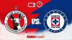 Nhận định, soi kèo Tijuana vs Cruz Azul, 09h06 14/9