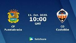 Nhận định, soi kèo Fuenlabrada vs Castellon, 17h00 ngày 11/10