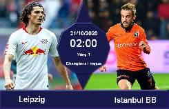 Nhận định, soi kèo RB Leipzig vs Istanbul BB, 02h00 21/10