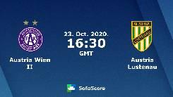 Nhận định, soi kèo Rapid Wien B vs Austria Lustenau, 16h30 ngày 26/10