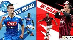 Nhận định, soi kèo Napoli vs AC Milan, 02h45 23/11