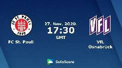 Nhận định, soi kèo St. Pauli vs Osnabruck, 0h30 ngày 28/11