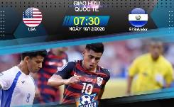 Nhận định, soi kèo Mỹ vs El Salvador, 07h30 10/12