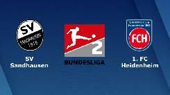 Soi kèo từ sàn châu Á Sandhausen vs Heidenheim, 00h30 09/01