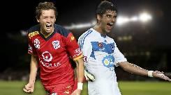 Soi kèo từ sàn châu Á Adelaide United vs Melbourne Victory, 15h10 23/01
