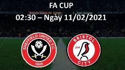Soi kèo từ sàn châu Á Sheffield Utd vs Bristol City, 02h30 11/02