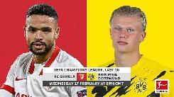 Nhận định, soi kèo Sevilla vs Dortmund, 03h00 ngày 18/2