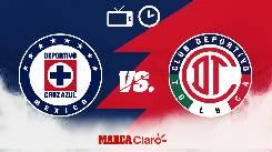 Soi kèo từ sàn châu Á Cruz Azul vs Toluca, 08h00 21/02