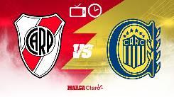 Soi kèo từ sàn châu Á River Plate vs Rosario Central, 07h30 21/02