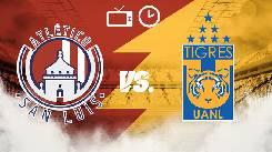 Soi kèo từ sàn châu Á Atletico San Luis vs Tigres UANL, 10h00 26/02