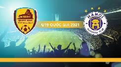 Xem trực tiếp Quảng Nam vs Hà Nội lúc 15h30 hôm nay ngày 06/4 Giải bóng đá Vô địch U19 Quốc gia 2021