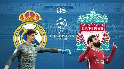 Xem trực tiếp trận Real Madrid vs Liverpool lúc 02h00 ngày 07/4 Cúp C1 châu Âu trên kênh nào?