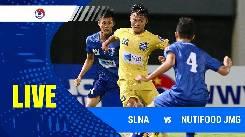 Xem trực tiếp trận SLNA vs HV Nutifood lúc 18h00 ngày 13/4: Bán kết Vô địch U19 Quốc gia 2021