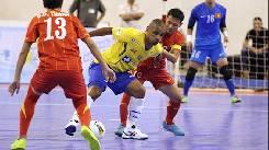 Nhận định, soi kèo futsal Brazil vs CH Séc, 00h00 ngày 17/09